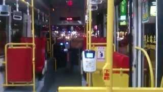 夜間台中市公車83路 去程 (鹿寮國中-新民高中)01