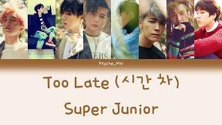 [Thaisub] Too Late (시간 차) - Super Junior (슈퍼주니어)