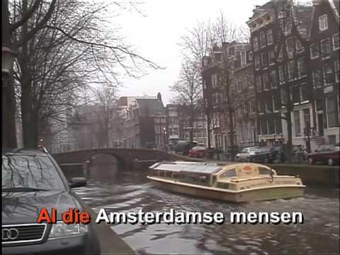 Aan de Amsterdamse grachten - karaoke