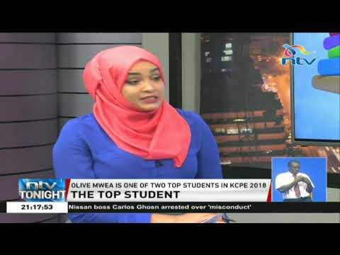 Top KCPE student Olive Mwea sheds light on her journey to academic success
