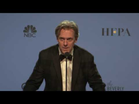 Thumbnail: Golden Globes 2017 Hugh Laurie Backstage Interview
