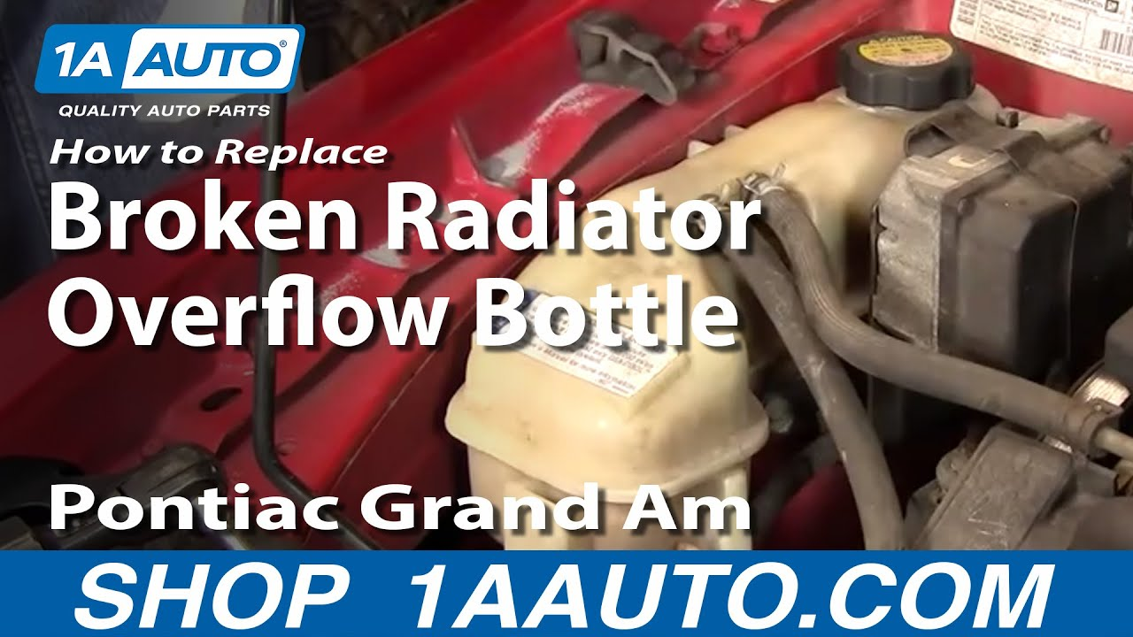 how to replace radiator overflow bottle 99 05 pontiac grand am youtube how to replace radiator overflow bottle 99 05 pontiac grand am