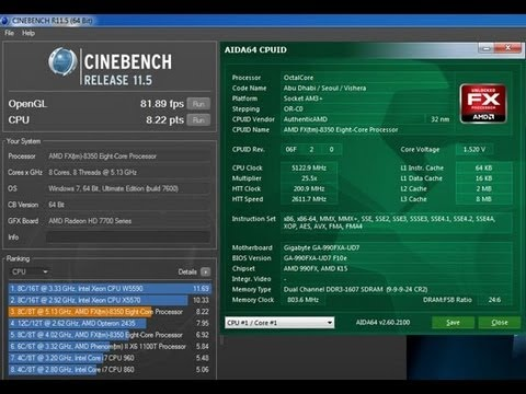 Amd Fx 8350 Vishera Piledriver 4 0ghz 8 Core Processor Review