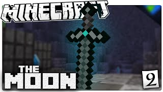 Minecraft | The MOON #2 | THE TITANIUM SWORD! | Custom Command World
