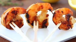 Grilled Shrimp Marinated With Lemon And Soy Sauce Recipe