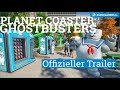 Planet Coaster: Ghostbusters DLC - Launch Trailer