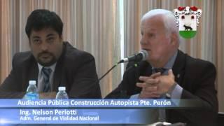 Municipalidad de Merlo: Nueva audiencia pública por la construcción de la Autopista Presidente Perón