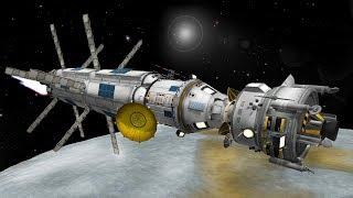 KSP: Apollo-Style rescue mission to EELOO!