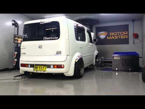 nissan cube turbo tuning in progress youtube. Black Bedroom Furniture Sets. Home Design Ideas