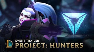 The Hunt   PROJECT: Hunters Animated Trailer - League of Legends