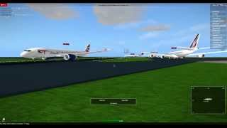 Roblox - Avionic - planespotting at St Maarten