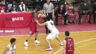 千葉ジェッツvsシーホース三河|B.LEAGUE第17節GAME1Highlights|01.21.2017 プロバスケ (Bリーグ)