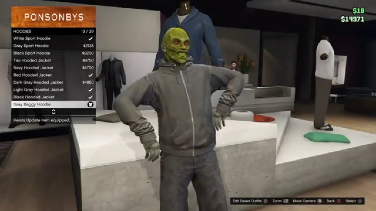 Grand Theft Auto 5 Online Suicide Squad Killer Croc Outfit tutorial - YouTube