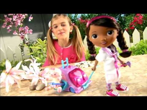 Smyths Toys Disney Doc Mcstuffins Walk N Talk Doll Youtube