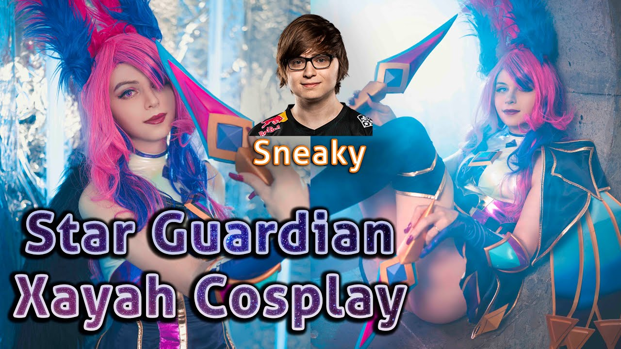 Star Guardian Xayah Cosplay Photoshoot With Sneaky (Zach Scuderi)