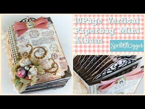 Ten-page Paper Bag Mini Album