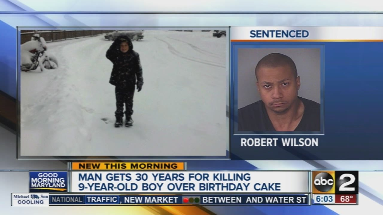Man Gets 30 Years For Killing 9 Year Old Boy Over Birthday Cake