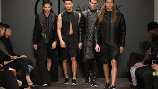 Ada + Nik AW15/16 'Noir Desir' London Collections: Men Catwalk Highlights