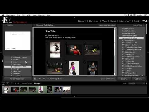 Adobe Creative Cloud for Photographers - How To Publish Lightroom Web Galleries to Creative Cloud