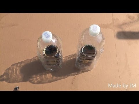 How to make a Plastic bottle Solar distiller