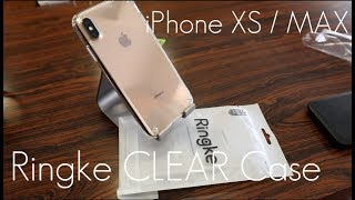 Cheap Quality Clear Case? - Ringke Fusion CLEAR Case - iPhone XS / MAX - Hands on Review