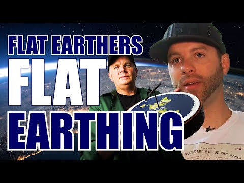 Flat Earthers Flat Earthing thumbnail