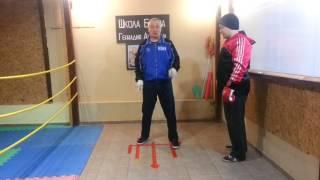 Школа бокса Геннадия Аношкина. Урок 10: уклоны и сайд-степы.