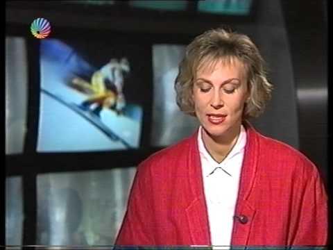 Sat.1 Blick Sport Nachrichten Gaby Papenburg 1991