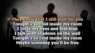 Tonight's So Cold Inside My Room Karaoke