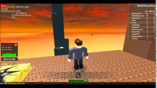 Walk on air Roblox glitch 2014
