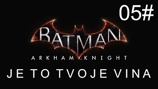 CZ tit. | Let's Play | Batman: Arkham Knight | #05 | NG+ |1080p/50fps