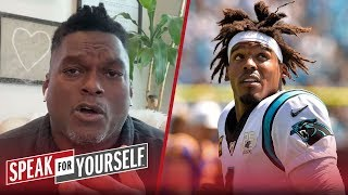 LaVar Arrington urges Cam to not wait until draft to sign with team   NFL   SPEAK FOR YOURSELF