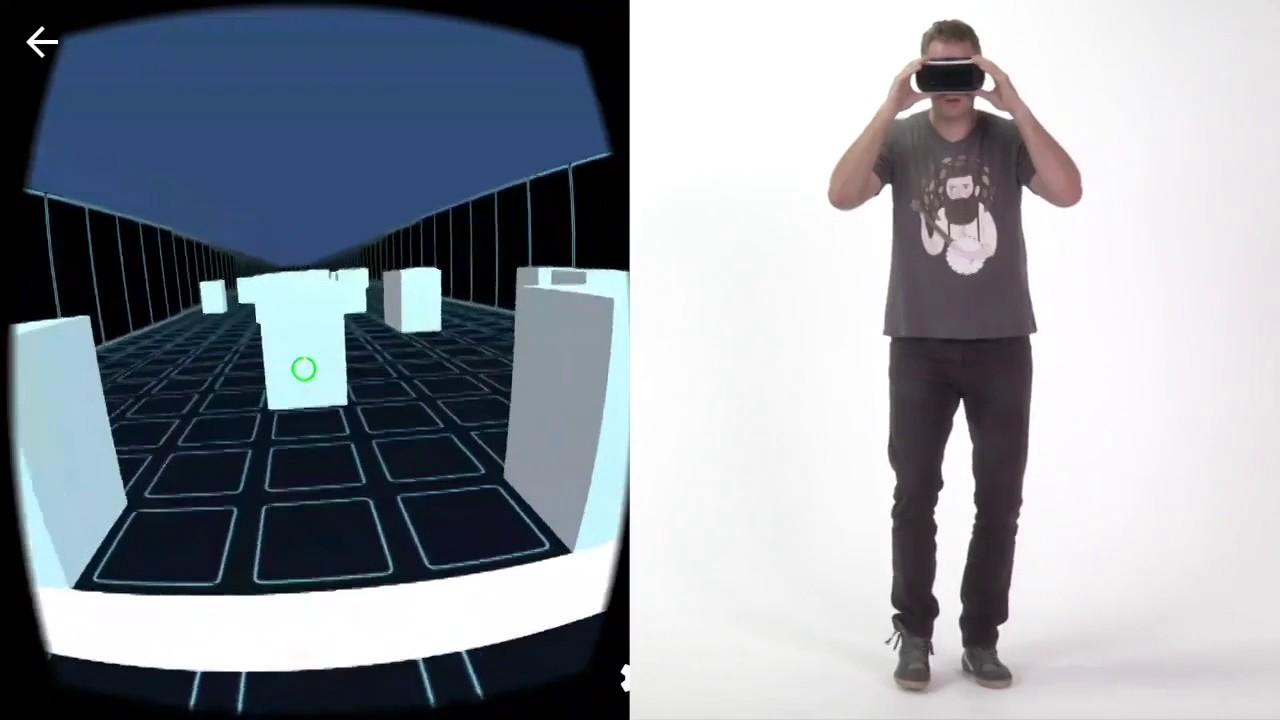 Handsfree Omnidirectional VR Navigation using Head Tilt