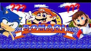 SOMARI (NES) LA FUSIÓN DE SONIC Y MARIO BROS GAMEPLAY
