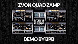 Quad Zamp Drum Sampler DEMO (32-bit VSTi)