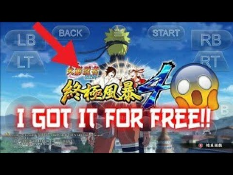 New Apk For Play Naruto Storm 4 On Android