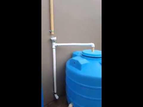Tip supervivencia sistema para recoger agua de lluvia - Recoger agua lluvia ...