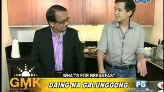 What' For Breakfast: Daing na Galunggong