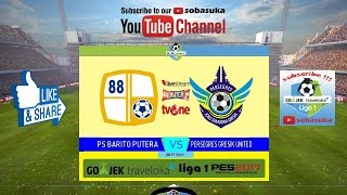 Video Gol Pertandingan Barito Putera vs Gresik United