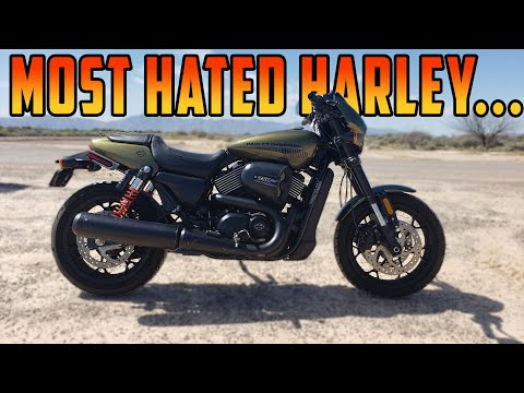 Why Do People HATE This Bike? The Harley Street Rod 750...