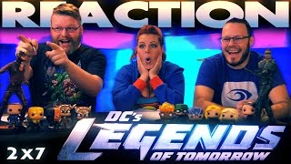 "Legends of Tomorrow 2x7 REACTION!! ""Invasion!"" CW CROSSOVER"