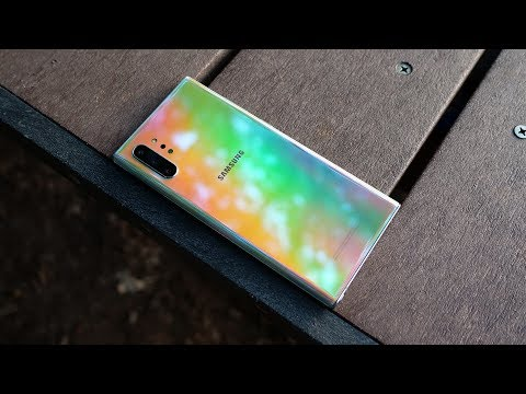 Samsung Galaxy Note 10 Plus one week later
