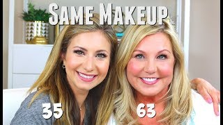 35 & 63 Years Old | WE USED THE EXACT SAME PRODUCTS... HOW DID THEY WORK?!?