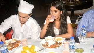 Mohsin Khan Iftar Party With Shivangi Joshi - YRKKH - Naira And Kartik