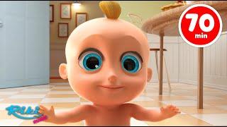 Джонни Джонни Да Папа | Песенки для детей | Большой сборник мультфильмов