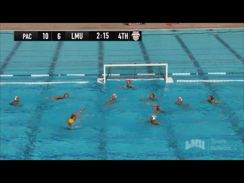 GCC Women's Water Polo Championship 2018: Championship Game - Pacific vs. LMU