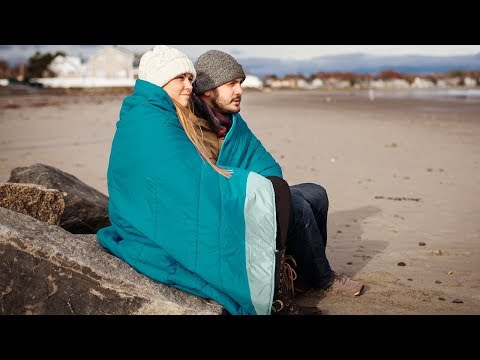 This soft, built-tough blanket is better than down.