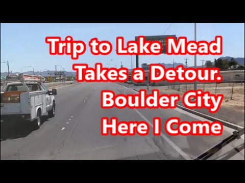 Boulder City, Nevada Adventure in my RV pt 1