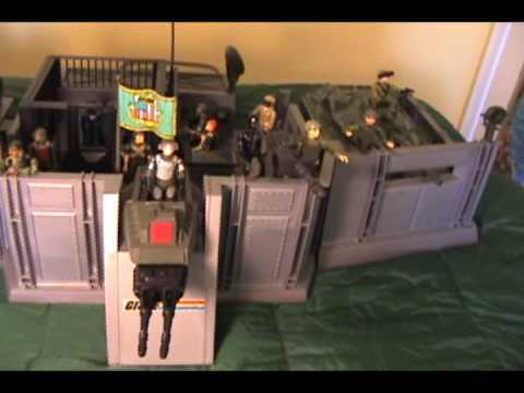 1983 G.I. Joe Headquarters review