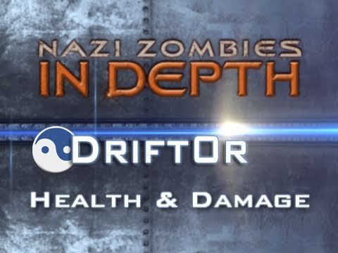 Nazi Zombies In Depth Ep1 - Health & Damage - by Drift0r